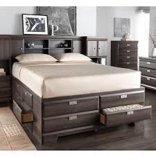 Bed Frames Sears by Buy U0027cypress U0027 Storage Bed With Bookcase Headboard Online U0026 Reviews