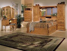 BedroomStunning Country Style Master Bedroom Ideas With Brown Wooden Furniture Plus Persian Area