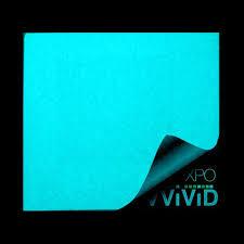 XPO Glow In The Dark Blue Vinyl Wrap