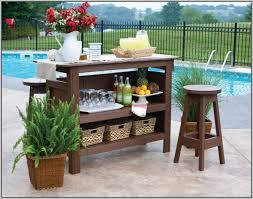 Patio Serving Cart Woodworking Plan Patios Home Design Ideas