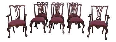 Details About L46794EC: Set Of 8 CRAFTIQUE Ball & Claw Mahogany Dining Room  Chairs Details About L47870ec Set Of 10 Kindel Winterthur Collection Ball Claw Ding Chairs Acme 60012 Dresden Side Chair Cherry Oak Finish Of 2 Pair Henredon And Mahogany Chippendale Beautiful Imbuia Ball And Claw Ding Room Suite For Sale Gorgeous Rooms Solid Walnut Extending Table Large Foot Wood Style 7 L47606ec 8 Baker Ding Chair With Ball Claw Feet In 2019 Antiques World 85 Best Room Decorating Ideas Country Decor W6 Upscale Consignment