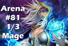 hearthstone arena mage the art of deck building 1 3 draft