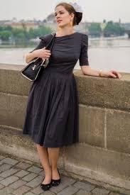 Fashion RetroCat Wearing A 50s Inspired
