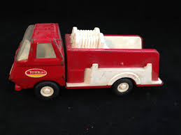 100 Pink Tonka Truck Vintage Small 5 34 Inch Fire Red And White Etsy