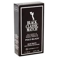 Polo Ralph Lauren Bathroom Sets by Parfums Belcam Black Classic Match For Men Eau De Toilette Spray