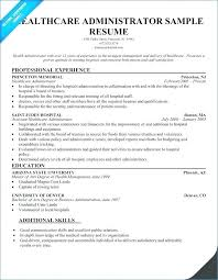 Healthcare Executive Resume Format One Year Experience Samples For