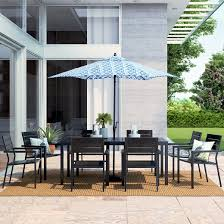 Patio Umbrellas At Target by Patio Furniture Sets Target