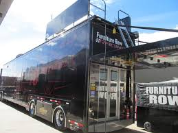 Check this out 12 secrets of the Furniture Row NASCAR garage in
