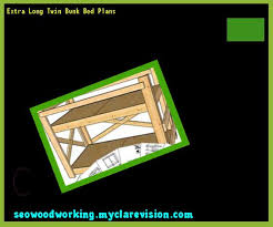 extra long twin bunk bed plans 110106 woodworking plans and