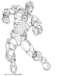 Coloriage Iron Man Softsmsmobi