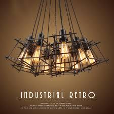 vintage led wohnzimmer decke lichter design acryl