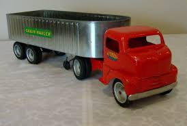 Early Tonka Toys Ford COE Cab Grain Hauler TT Truck 50's V RARE ... Classic Metal Works Ho 1960 Stakebed Ford Truck Yellowred Ertl 118 F 100 Diecast Model Car Aw211 Svt F150 Lightning Pickup Red Maisto 31141 121 Not A Toy 1925 Panel Delivery Super Duty F350 Dually Biguntryfarmtoyscom 2016f250dhs Colctables Inc Majorette Premium 150 Cars Street Cruisers 66 Party Favors Rroplanetcom Raptor Highlift By Scale 187 With Moving Van Trailer Custom Coe 9000 Toys Proline F650 Monster Body Clear Pro319300 1956 F100 124 Scale American Diecast