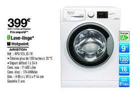 promotion lave linge dans votre magasin carrefour prixing