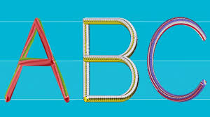 ABCD For Kids 3D Animation Capital Letter Alphabets YouTube
