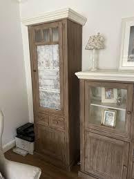 wohnzimmer möbel highboard vitrine couchtisch landhaus shabby