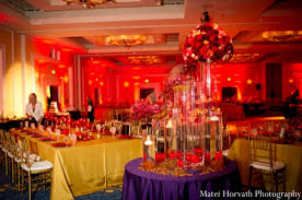Red And Gold Wedding Decoration Ideas Download Corners Restaurant Reception