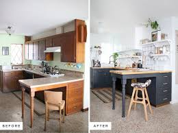 Eclectic Kitchen Renovation Including Before And After Photos