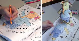Disney 3d Coloring Book Is Working On D Books