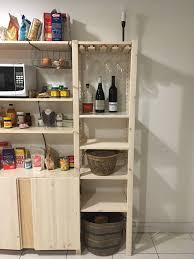 diy wooden wine glass rack weinglasregal ivar regal ikea