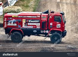 100 Maz Truck MAZ MAZ Sportauto Racing Team BIZON Stock Photo Edit Now