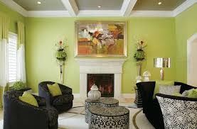 What Color Goes With Neon Green Lime Living Room Decor Walls