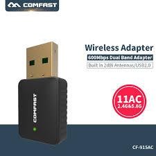 antenne wifi pour pc bureau 600 mbps usb wifi adaptateur wifi antenne 2dbi support de windows