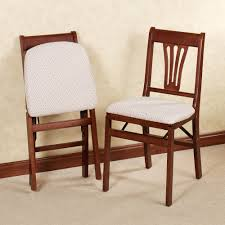 Stakmore Folding Chairs Vintage by Furniture Appealing Folding Wood Dining Chairs Folding Dining