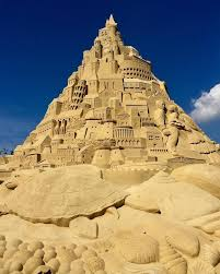 Sand Art Sculpture Breaks Record For Tallest Sandcastle In The World