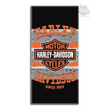 Harley Davidson Bathroom Decor by Barnett Harley Davidson Towels