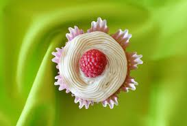 Raspberry Cream Filled Vanilla Cupcakes With Cheese Frosting