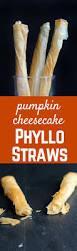 Pumpkin Cheesecake Gingersnap Crust Food Network by Pumpkin Cheesecake Phyllo Straws Rachel Cooks