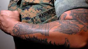100 Big Truck Tattoos The Marines Ease Tattoo Rules The Strictest In The Military Fox News