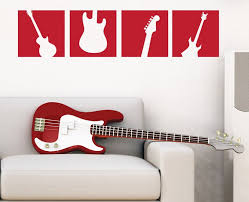 Guitar Wall Art Hanger Display Case And