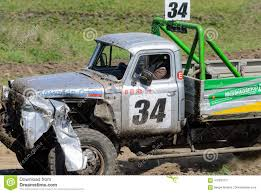 100 Racing Trucks On Unpaved Track Editorial Photo Image Of
