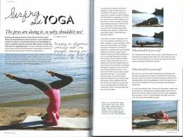 Hang Yoga Magazine Spread Ten Making Waves In The Surfing World Triocean Surf Blog Shaping Face