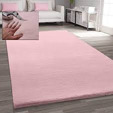 vimoda fellteppich kunstfell teppich imitat in dicht flauschig seidiger glanz maße 80x150 cm