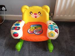 Toddlers VTech Play & Learn Rocking Chair - With Fun Lights, Sounds & Music  | In Chandlers Ford, Hampshire | Gumtree Amazoncom Kids Teddy Bear Wooden Rocking Chair Red Delta Children Cars Lightning Mcqueen Mmax 3 In 1 Korakids Red Portable Toddler Rocker For New Personalized Tractor Childrens Pied Piper Toddler Great Little Trading Co Fisher Price Baby Chair Horse Baby On Clearance 23 X 14 22 Rideon Toys Whandle Plush Rideon Deer Gift Little Cute Haired Boy Sits Astride A Rocking Horse Pads Cushions Chairs Carousel Adirondack Starla Child Cotton