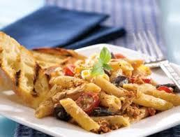 recette de pate au thon salade de pâtes au thon recettes de cuisine italienne
