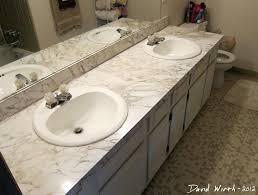Install Overmount Bathroom Sink by Installing Drop In Sinks Bathroom Sinks Ideas