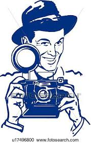 Clipart Retro photographer Fotosearch Search Clip Art Illustration Murals Drawings and