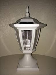 Lowes For Deck Solar Home Black Vinyl Depot Copper Lights Post Cap