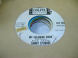 Sandy Stewart My Coloring Book Records LPs Vinyl And CDs