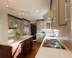 interior design contemporary kitchen brunello granite island