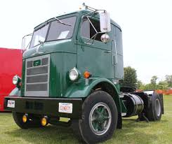 Old Mack Cabover Semi Trucks