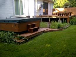Simple Hot Tub Deck | Sarashaldaperformancecom Awesome Hot Tub Install With A Stone Surround This Is Amazing Pergola 578c3633ba80bc159e41127920f0e6 Backyard Hot Tubs Tub Landscaping For The Beginner On Budget Tubs Exciting Deck Designs With Style Kids Room New In Outdoor Living Areas Eertainment Area Pictures Best 25 Small Backyard Pools Ideas Pinterest Round Shape White Interior Color Patios And Decks Fire Pit Simple Sarashaldaperformancecom Wonderful Pergola In Portland