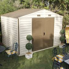 4x6 Plastic Storage Shed by Upvc Sheds Plastic Outdoor Storage Buildings Workshops Apex Slate