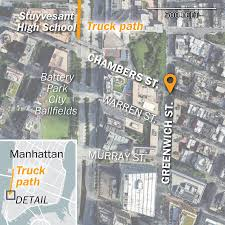 A Reconstruction Of The New York City Truck Attack - Washington Post Streetsmart Nyc Map By Vandam Laminated City Street Of Wandering Lunch Food Truck Finder All Trucks The Economist Media Centre How Much Does A Cost Open For Business Oscar Mayer Tour May 2012 Visually Hottest New Around The Dmv Eater Dc Socalmfva Southern California Mobile Vendors Association What Happened In Attack Nice France York Times Amazoncom Subway Appstore Android Winnipeg Truck Route Map Manitoba 2015 Summer Ccession Vendor News In Our Vehicle Attack Everything You Need To Know Washington Post