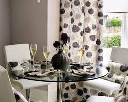 Curtain Ideas For Small Dining Room Casual A Red