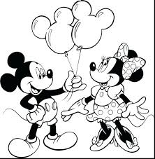 Mickey Mouse Coloring Pages Printable Colouring Pictures Online Birthday Pdf Heart
