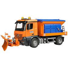 100 Bruder Trucks Toys Mercedes Benz Arocs Winter Service Snow Plow Truck With
